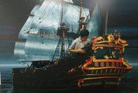 Kapal 3D Di Lampung Walk
