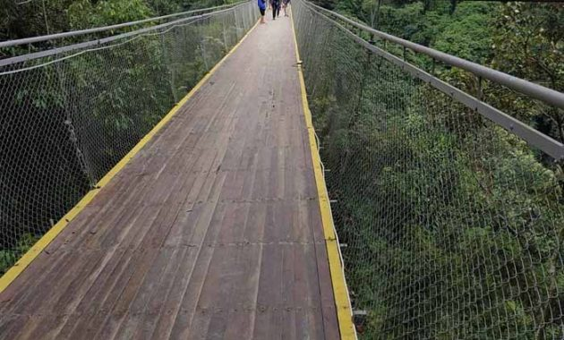 Keindahan Situ Gunung Suspension Bridge Sukabumi