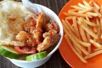 Nasi Ayam Saus Mangga Di Lampung Walk