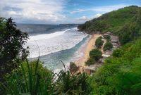 Objek Wisata Pantai Pok Tunggal Di Gunungkidul