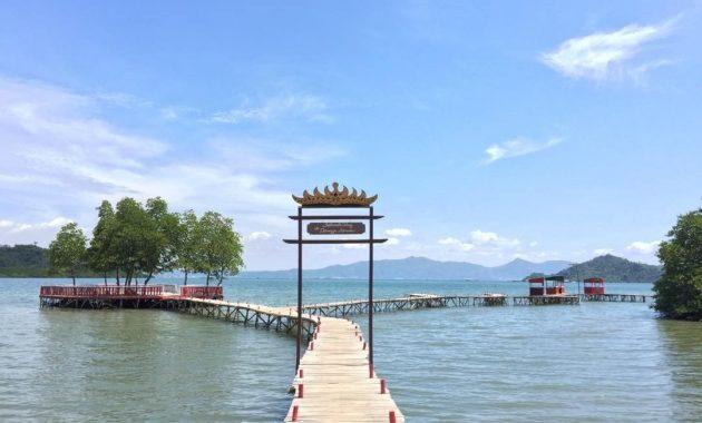 Rute Pantai Dewi Mandapa Pesawaran