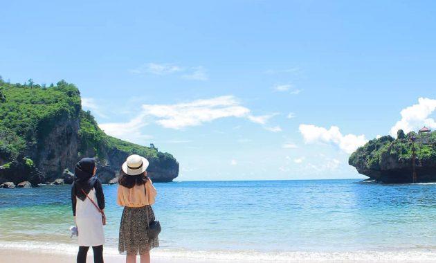 Tempat Wisata Pantai Gesing Di Gunungkidul
