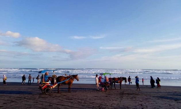 Wisata Pantai Parangtritis Di Bantul Jogja