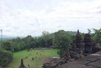 Jalan Menuju Candi Borobudur Magelang