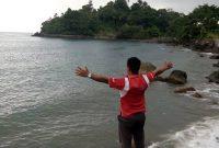 Jalan Menuju Pantai Wartawan Lampung
