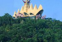 Jalan Menuju Wisata Menara Siger Lampung