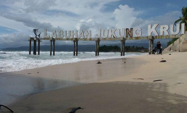 Lokasi Pantai Labuhan Jukung Lampung