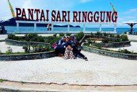 Lokasi Pantai Sari Ringgung Lampung