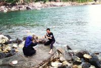 Lokasi Wisata Pantai Wartawan Lampung