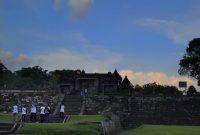 Panorama Candi Ratu Boko Yogyakarta