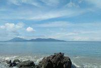 Panorama Wisata Pantai Wartawan Lampung