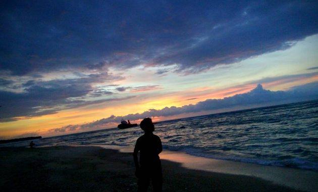 Senja di Pantai Labuhan Jukung Lampung