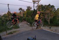 Sepeda Gantung Wisata Puncak Mas Lampung