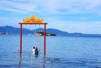 Spot Foto Pantai Sari Ringgung Lampung
