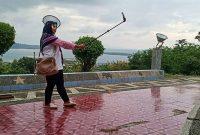 Spot Foto Wisata Menara Siger Lampung