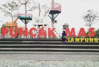 Spot Foto Wisata Puncak Mas Lampung