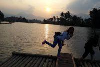 Sunset Candi Cangkuang Garut