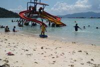 Wahana Pantai Sari Ringgung Lampung