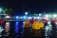 Wisata Malam Blitar Park Garum