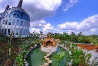 Jalan Menuju Dusun Semilir Eco Park Semarang