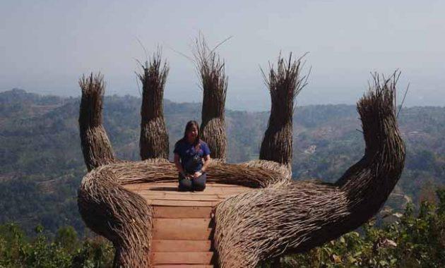Jalan Menuju Hutan Pinus Pengger Jogja