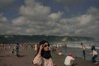 Jalan Menuju Pantai Parangtritis Yogyakarta