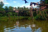 Jalan Menuju Riam Bajandik Hulu Sungai Tengah