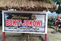 Lokasi Bukit Jokowi Jayapura