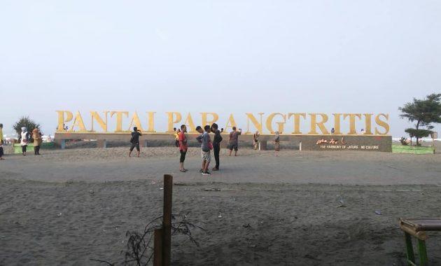 Lokasi Pantai Parangtritis Yogyakarta