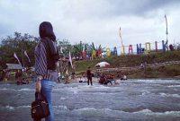 Lokasi Riam Bajandik Hulu Sungai Tengah