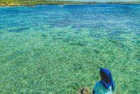 Panorama Pantai Pink Lombok Timur