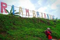 Panorama Riam Bajandik Hulu Sungai Tengah