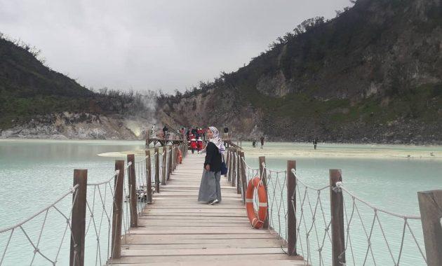 Fasilitas Kawah Putih Bandung