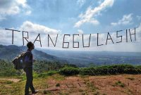 Jalan Menuju Bukit Tranggulasih Purwokerto