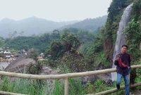 Jalan Menuju Curug Bidadari Bogor