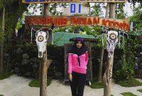 Jalan Menuju Kampung Indian Kediri