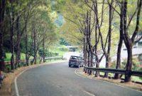 Jalan Menuju Kebun Raya Cibodas Cianjur
