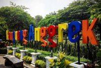 Lokasi Kampung Anggrek Kediri