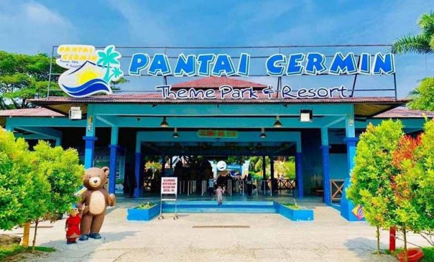 Lokasi Pantai Cermin Theme Park And Resort Hotel