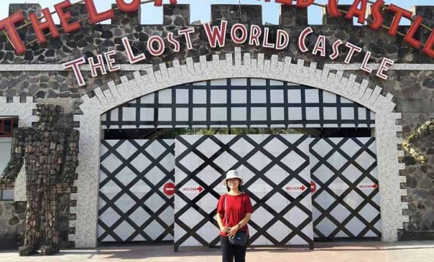 Rute The Lost World Castle Jogja