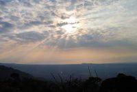 Sunset Bukit Tranggulasih Purwokerto