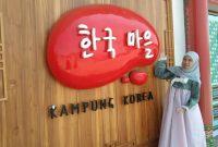 Jam Buka Kampung Korea Bandung