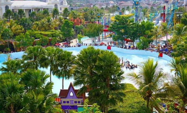 Fasilitas Hawai Waterpark Malang