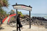 Jalan Menuju Pantai Menganti Kebumen