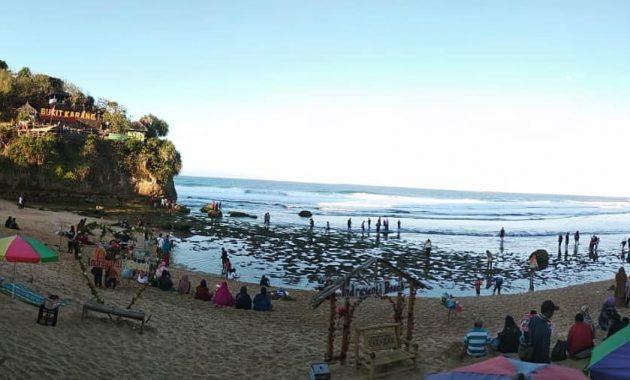Lokasi Pantai Indrayanti Gunungkidul