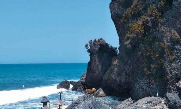 Lokasi Pantai Ngobaran Gunungkidul