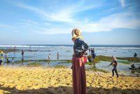 Panorama Pantai Pok Tunggal Gunungkidul
