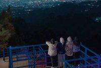 Puncak Bintang Bukit Moko Malam Hari