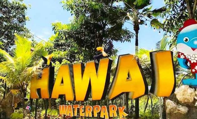 Spot Foto Hawai Waterpark Malang