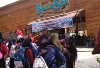 Lokasi Santa Sea Waterpark Sukabumi